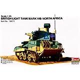 Vul56011 1:35 Vulcan Scale Models British Light Tank Mark Vi B North Africa Model Kit