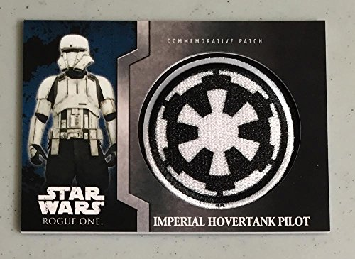 MultiSport MultiSport 2016 Topps Star Wars Rogue One Commemorative Patch #12 Imperial Hovertank Pilo