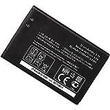 GnG Mobile Battery Bl-44jn For Lg E739 P970 S700 E400 Ms840 Optimus Hub (Black)