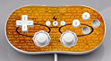 Inspirational Wizardry Quotes Design Print Image Wii Classic Controller Vinyl Decal Sticker Skin by Trendy Accessories