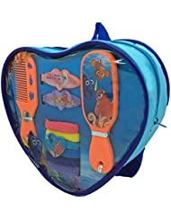 Finding Dory Heart Backpack With Assorted Hair Accessories (Set Of 10)