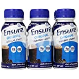 Ensure Original Nutrition Shake, Rich Dark Chocolate, 8-Ounce Bottle, 6 Count, (Pack Of 4)
