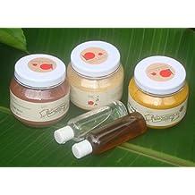 Ayurvedic Face Pack (Combo Offer) - 100 Gm Red Sandalwood Powder,100 Multani Mitti, 125 Gm Wild Turmeric Powder...