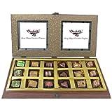 18pc Gold Belgium Chocolate Box - Chocholik Belgium Chocolates