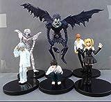 Death Note L Killer Ryuuku Rem Misa Amane 6pcs/set PVC Action Figure Toys Doll Kids Gift