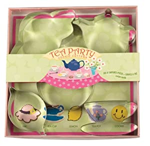 Tea Party Cookie Cutter Set
