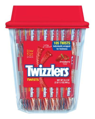 TWIZZLERS Twists (Strawberry, 105-Count) $5.24