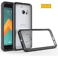 HTC 10 Case, HTC ONE 10 Case, HTC ONE M10, Taslar Crystal Clear Ultra Slim Anti Scratch Bumper Case With Clear...