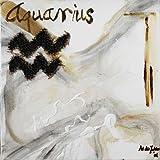 Aquarius By Die Zakko, Art Art Print On Canvas 18x18 Inches