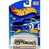2000 Mattel Hot Wheels Collector #248 Way 2 Fast Silver / Black, Blue, White Heralda Racing Graphics Thailand...