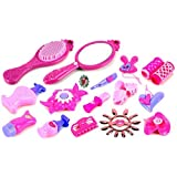 Salon Princesses 16 Pretend Play Toy Fashion Beauty Play Set W/ Assorted Hair & Beauty Accessories