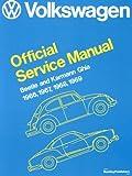 Image of Volkswagen Beetle and Karmann Ghia Service Manual, Type 1: 1966, 1967, 1968, 1969 (Volkswagen Service Manuals)