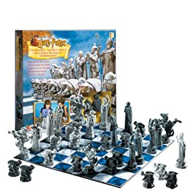 Click to buy Harry Potter Wizard Chess from Amazon!