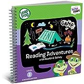 LeapFrog LeapStart Kindergarten Activity Book Reading Adventures And Health Safety