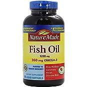 NATURE MADE Fish Oil 1200 Mg 200 Liquid Softgel