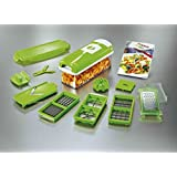 NEW 14 Pc Genius Nicer Dicer Plus Multi Chopper Vegetable Cutter Fruit Slicer