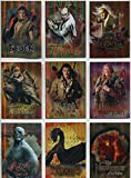Hobbit Desolation Of Smaug Complete Character Biography Chase Card Set CB20-28