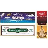 Amrutha Aromatics Assorted Incense Sticks 100G (Pack Of 3 ) - B00T9PAXN6