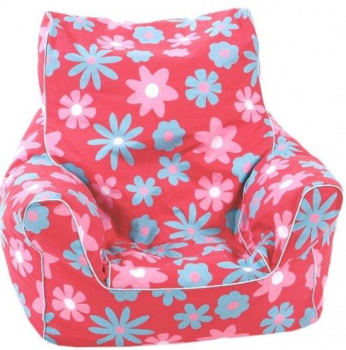 knorr-baby Mini Sitzsack flower pink