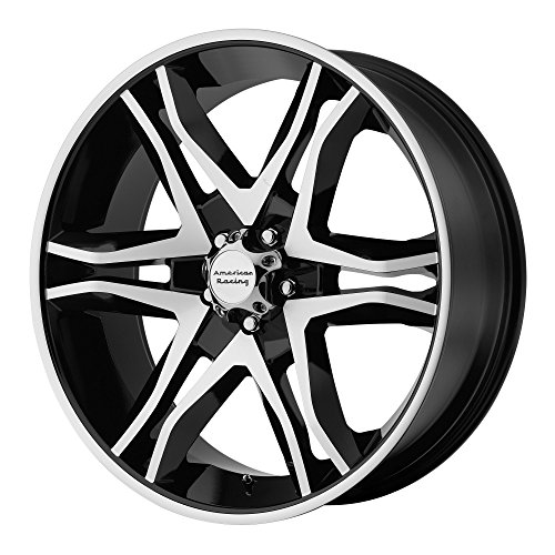 American Racing AR893 Mainline Black Machined Wheel (16×8″/6×139.7mm, 00)