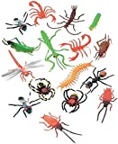 Darice 1029-03 16-Piece Plastic Insects, 2-Inch