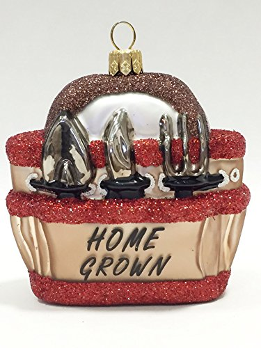 Home Grown Garden Tote Christmas Ornament