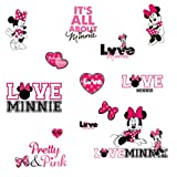 Roommates Minnie Loves Pink Wall Decal