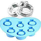 1pc Diamond Ring Ice Mold Silicone Mold Cake Tools Ice Cream Ice Molds Cream Mould Cooking Tools