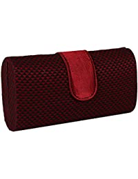 Indian Artisans Online Red And Black Women's Wallet