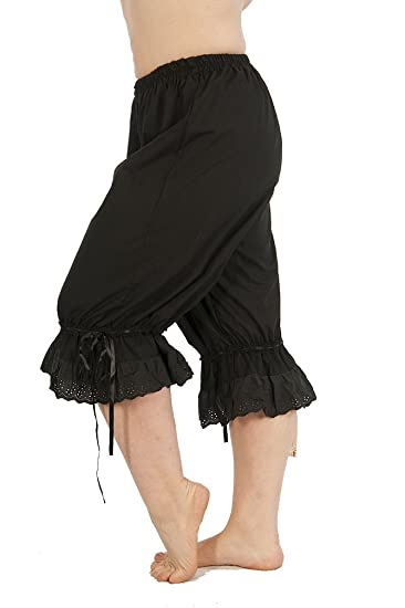 Steampunk Women's Pants & Bloomers Steampunk Cotton Bloomers $40.00 AT vintagedancer.com