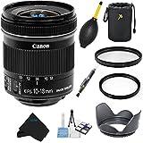 Aom Canon EF-S 10-18mm F/4. 5-5. 6 IS STM Lens Bundle For Canon DSLR Cameras International Version