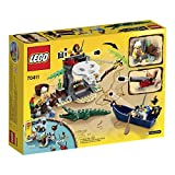 LEGO Pirates Ship Treasure Island (181pcs) Figures Building Block Toys