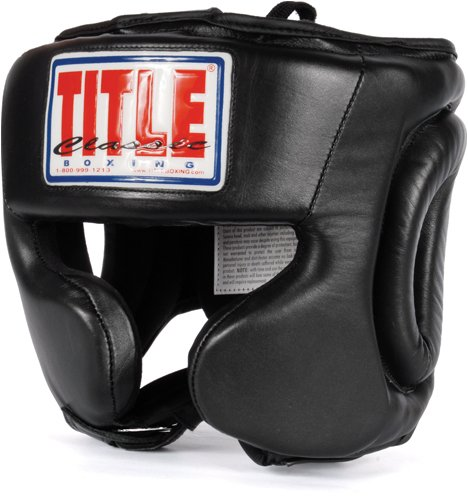 TITLE Classic Traditional Training Headgear, BK, REG