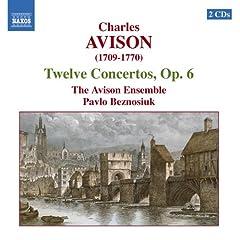 Charles Avison: Twelve Concertos, Op. 6