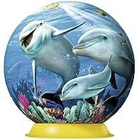 Ravensburger 3D Puzzles Underwater World, Multi Color (108 Pieces)