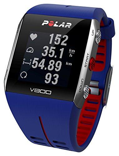 POLAR(ポラール) ハートレートモニター V800 HR ブルー [心拍センサー付き] 90048947
