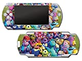 Monsters Inc University Mike Sulley Video Game Vinyl Decal Skin Sticker Cover for Sony PSP Playstation Portable Original Fat 1000 Series System by Vinyl Skin Designs