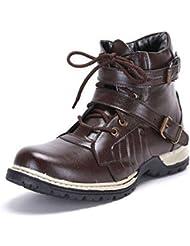 T-Rock Men's Faux Leather Boots