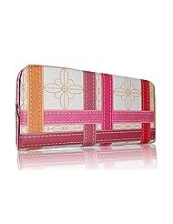Sn Louis Fabric Pink Women Clutch SAMCO-697
