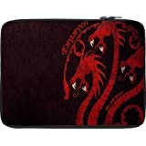 Snoogg Dragon Game 2484 12 To 12.6 Inch Laptop Netbook Notebook Slipcase Sleeve