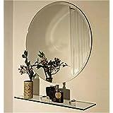 Replica Glass Decorative Mirror - (22 X 22 Inches, Glass)