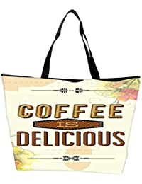 Snoogg Vector Illustration With Typography And Ornaments Editable Text Waterproof Bag Made Of High Strength Nylon