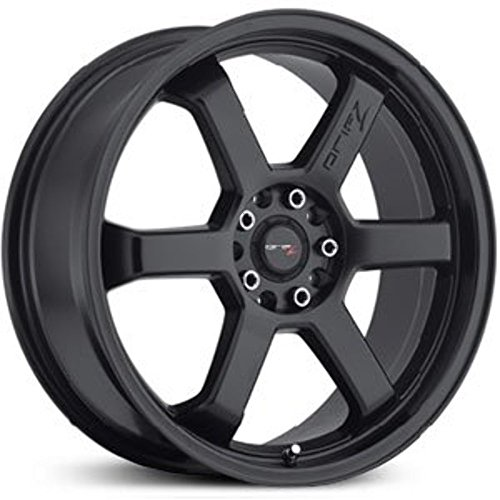 Drifz Hole Shot 17 Black Wheel / Rim 5×100 & 5×4.5 with a 42mm Offset and a 73 Hub Bore. Partnumber 303B-7751842