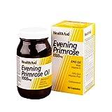 HealthAid Evening Primrose Oil 1000mg With Vitamin E - 60 Capsules