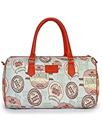 The Clownfish 18 Inch Floral Tapestry Travel Duffle Cabin Bag Weekend Bag Luggage Bag