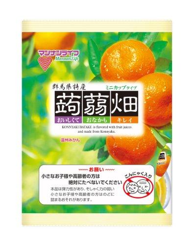 マンナンライフ 蒟蒻畑温州みかん (25g×12個)×12袋
