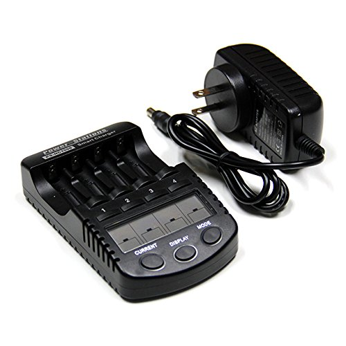 MaximalPower FC1000 Intelligent Battery Charger For AA/AAA Batteries (Black)