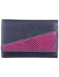 Leder Mart 2400 Women's Wallet (Black, FL013)