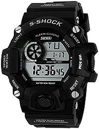 New Arrival G Style Quartz Digital Dual Time Watches Men Fashion Man Sports Watches Luxury Brand Skmei Military Army Reloje