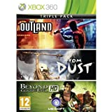 Xbox360 BEYOND GOOD & EVIL+FROM DUST+OUTLAND (3-IN-1 GAME) アジア版 【HGオリジナル特典付き】